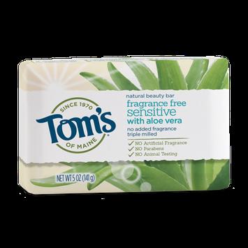 Tom's OF MAINE Fragrance-Free Sensitive Natural Beauty Bar