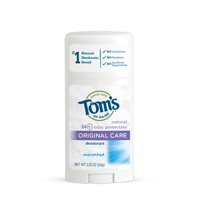 Tom's OF MAINE Unscented Original Care Deodorant