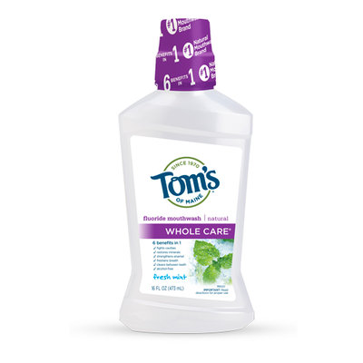 Tom's OF MAINE Fresh Mint Whole Care® Mouthwash