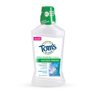 Tom's OF MAINE Peppermint Wave Wicked Fresh!™ Mouthwash