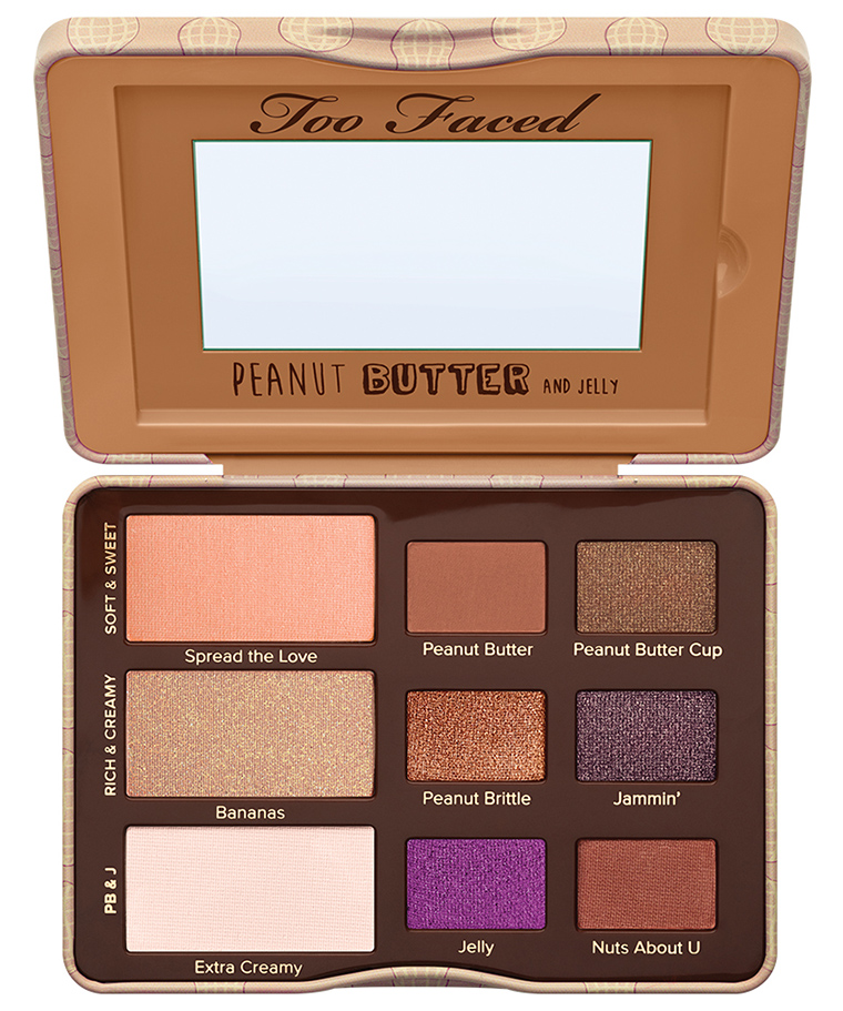 Too Faced Peanut Butter and Jelly Eye Palette