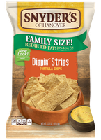 Snyder's Of Hanover Dippin' Strips Tortilla Chips