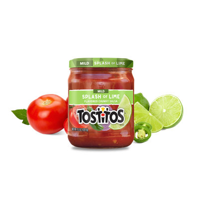 Tostitos® Mild Splash of Lime Flavored Chunky Salsa