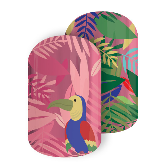Jamberry Toucan Dream Nail Wrap
