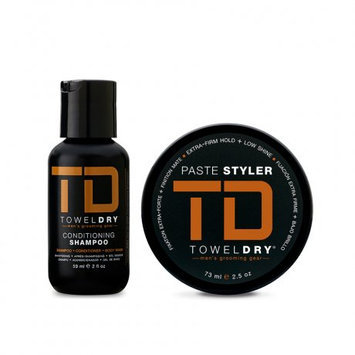 TowelDry Travel Pack Duo Thick Hair