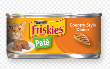 Friskies® Country Style Dinner Classic Pate Cat Food