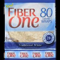 Fiber One 80 Calorie Wraps Traditional White