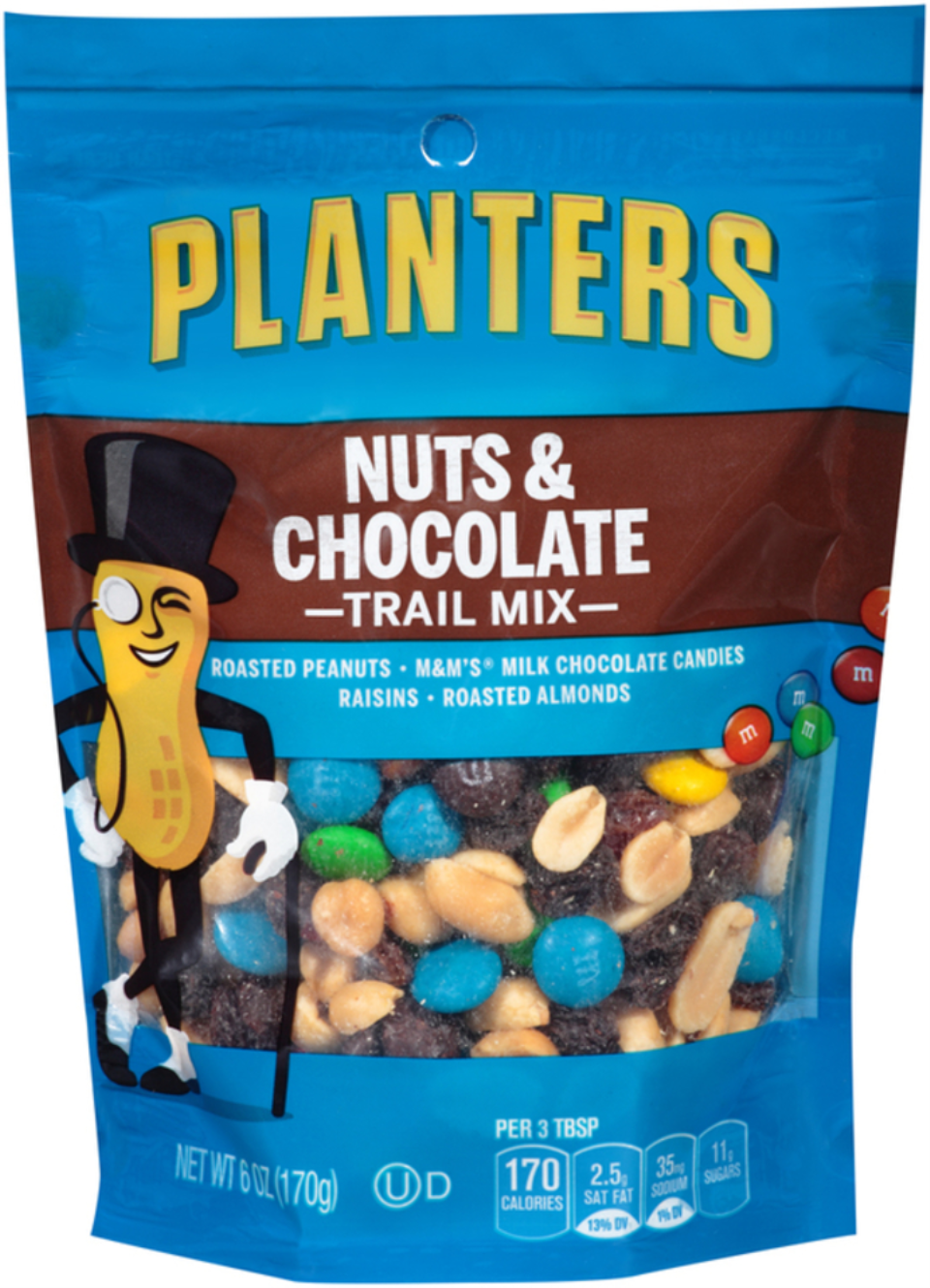 Planters Trail Mix Nuts & Chocolate Bag
