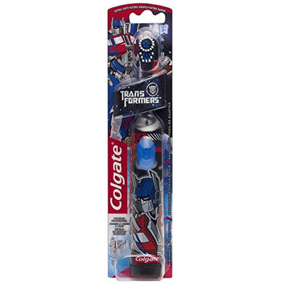 Colgate® TransFormers™ Powered Toothbrush Extra Soft