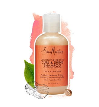SheaMoisture Coconut & Hibiscus Curl & Shine Conditioner Trial & Travel Size