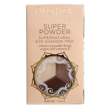 Pacifica Super Powder Supernatural Eye Shadow Trio Stone, Cold, Fox