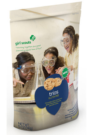 Trios Girl Scout Cookies