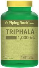 Piping Rock Triphala 1000 mg 120 Coated Tablets