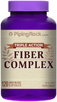 Piping Rock Fiber Complex Triple Action 120 Capsules