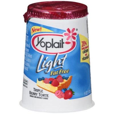 Yoplait® Light Triple Berry Torte Fat Free Yogurt