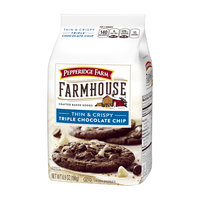 Pepperidge Farm® Farmhouse™ Thin & Crispy Triple Chocolate Chip Cookies