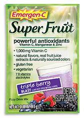 Emergen-C Super Fruit Triple Berry Blast