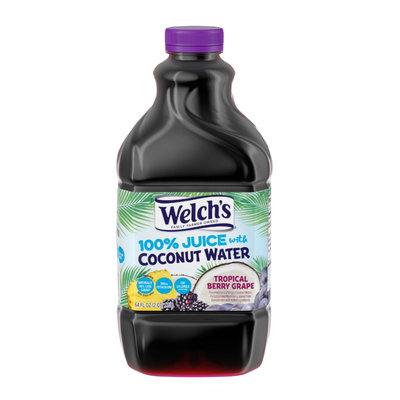 Welch's® 100% Juice Tropical Berry Grape With Coconut Water