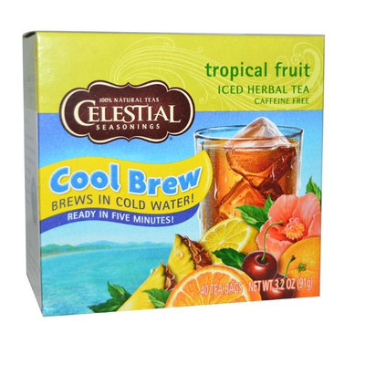 Celestial Seasonings® Tropical Fruit Iced Herbal Tea Caffeine Free