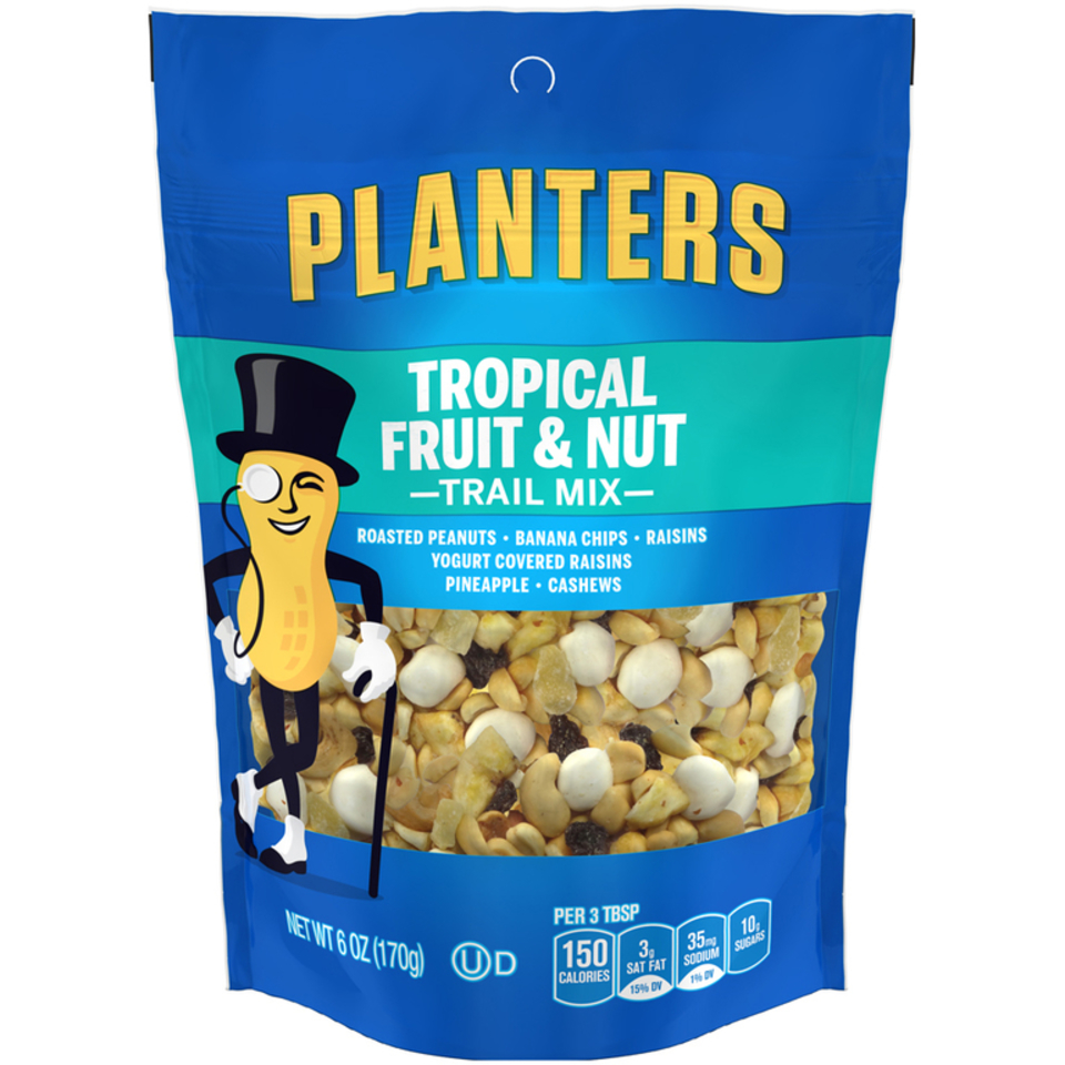 Planters Tropical Trail Mix Fruit & Nut Bag