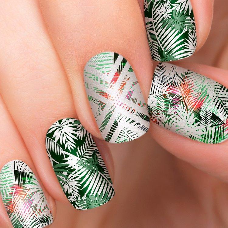 Incoco.com Incoco Nail Polish Strips, Tropical Getaway