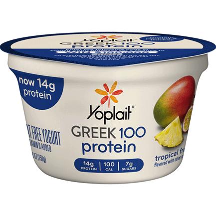 Yoplait® Greek 100 Protein Tropical Fruit Yogurt