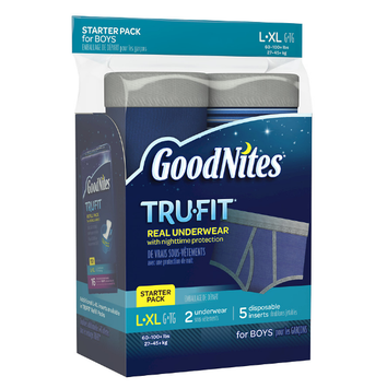 Huggies® Goodnites Tru-Fit Nighttime Protection Underwear- Boys