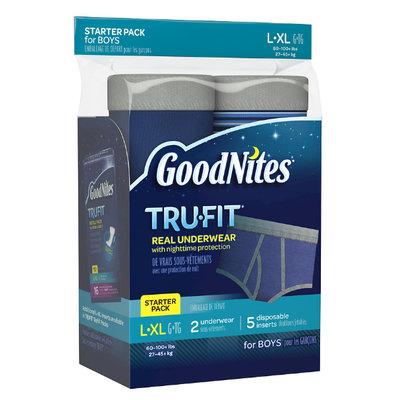 Huggies® Goodnites Tru-Fit Nighttime Protection Underwear- Boys