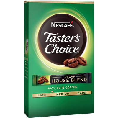 Nescafe Taster's Choice House Blend Decaf Single Serve Packets