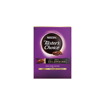 NESCAFÉ Taster's Choice 100% Colombian Single Serve Packets