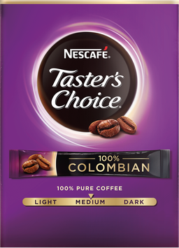 NESCAFÉ Taster's Choice 100% Colombian Single Serve Packets