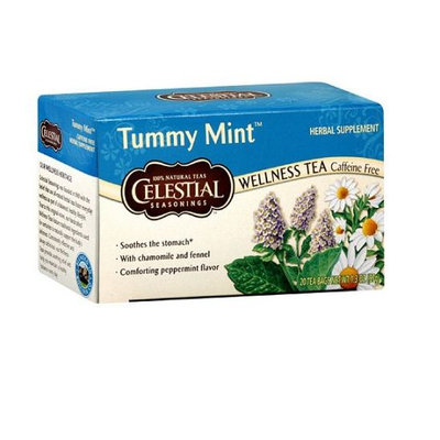 Celestial Seasonings® Tummy Mint Herbal Tea Caffeine Free