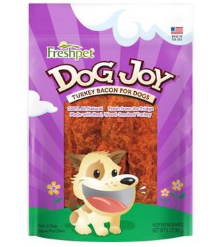 Freshpet® DOG JOY® TURKEY BACON FOR DOGS