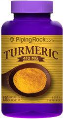 Piping Rock Turmeric 410mg 120 Capsules