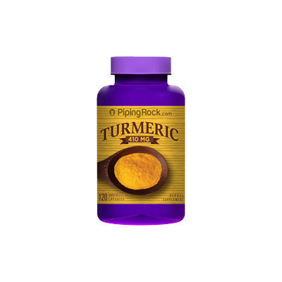 Piping Rock Turmeric 410mg 120 Capsules