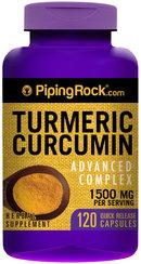 Piping Rock Turmeric Advanced Complex 120 Capsules