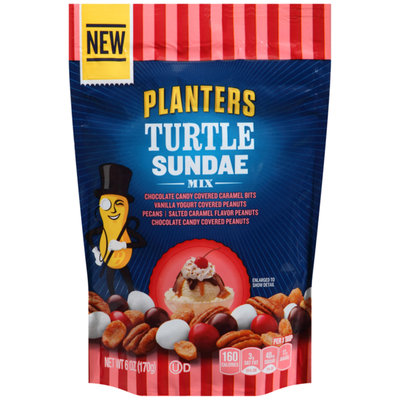 Planters Turtle Sundae Mix Bag
