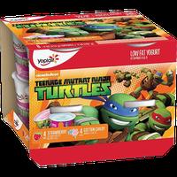 Yoplait® Kids Teenage Mutant Ninja Turtles Strawberry & Cotton Candy Yogurt Variety Pack