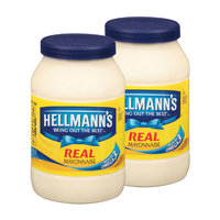 Hellmann's Real Mayonnaise 48 Oz Twin Pack