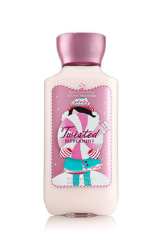 Bath & Body Works Holiday Traditions Twisted Peppermint Body Lotion