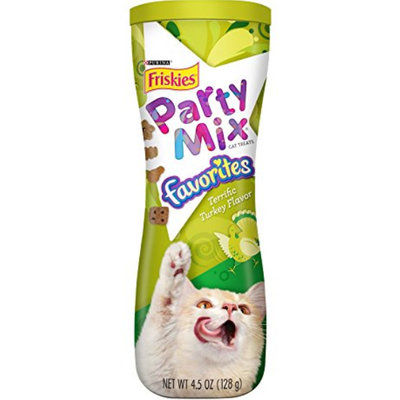 Friskies® Party Mix Favorites Terrific Turkey Flavor Cat Treats