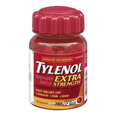 Tylenol Extra Strength Headache Pain and Fever Relief eZTabs