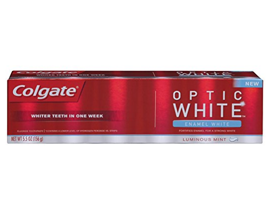 Colgate® OPTIC WHITE® ENAMEL WHITE Toothpaste Luminous Mint