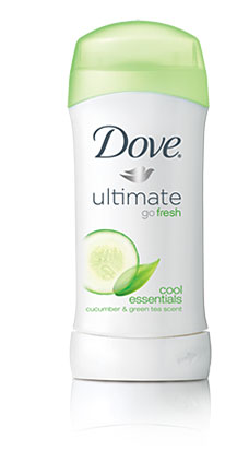 Dove Ultimate Go Fresh Cool Essentials Antiperspirant Deodorant