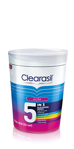 Clearasil® Ultra 5-in-1 Acne Medication Pads