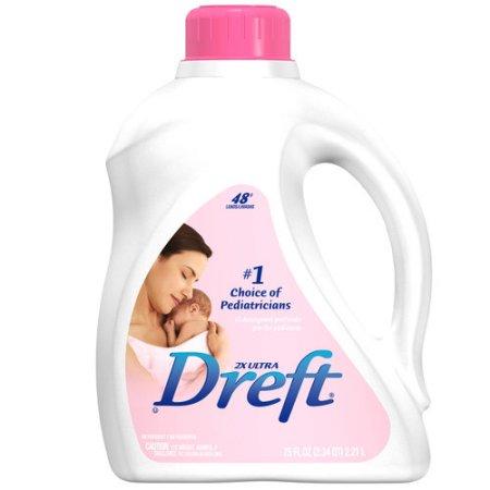 Dreft 2X Ultra Baby Laundry Detergent