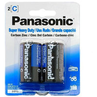 Panasonic UM-2NPA/2B Super Heavy Duty C Batteries - 2 Pack