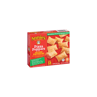 Annie's® Homegrown Pizza Poppers Uncured Pepperoni