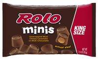 Hershey's Rolo Unwrapped Chew Caramels In Milk Chocolate