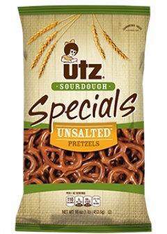 Utz Specials Sourdough Unsalted Pretzels